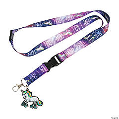 How I Roll Unicorn Lanyards with Charm