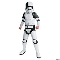 Boy's Super Deluxe Star Wars™ Episode VIII: The Last Jedi Executioner Trooper Costume - Large