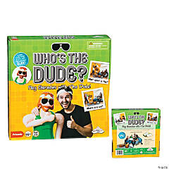 Who's The Dude? Charades Game