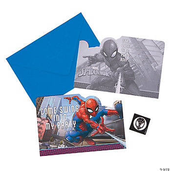 Ultimate Spider-Man™ Invitations
