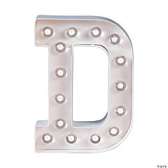 """D"" Marquee Light-Up Kit"