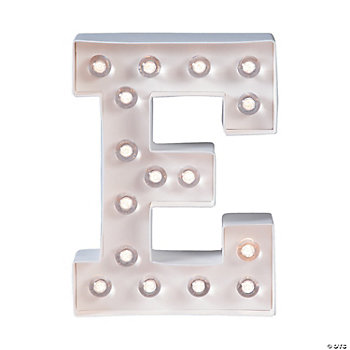 """E"" Marquee Light-Up Kit"