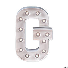 """G"" Marquee Light-Up Kit"
