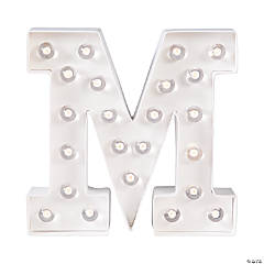 """M"" Marquee Light-Up Kit"