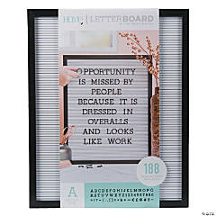 Black Letter Board Kit - 20