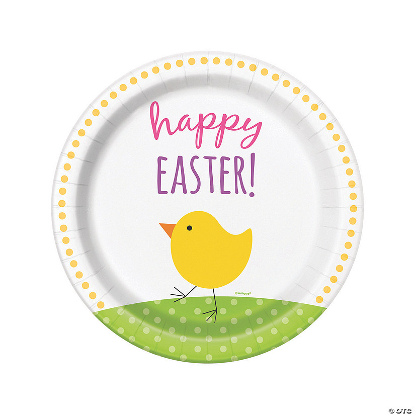 sc 1 st  Oriental Trading & Cute Easter Dinner Paper Plates