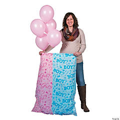 Girl Reveal Balloon Sack