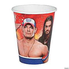 WWE Paper Cups