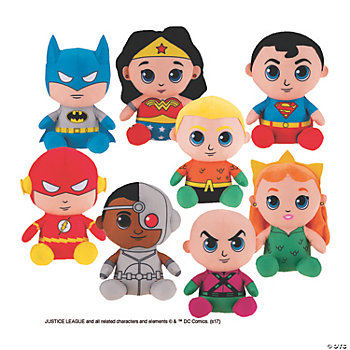 Plush Justice League™ Big Heads - Case