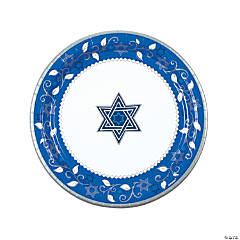 Joyous Holiday Passover Paper Dinner Plates
