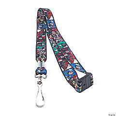 Marvel Comics Faces Lanyards