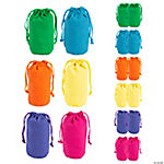 Bright Color Canvas Drawstring Bags