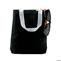 Small Black Tote Bags