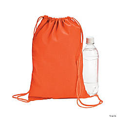 Orange Drawstring Backpacks