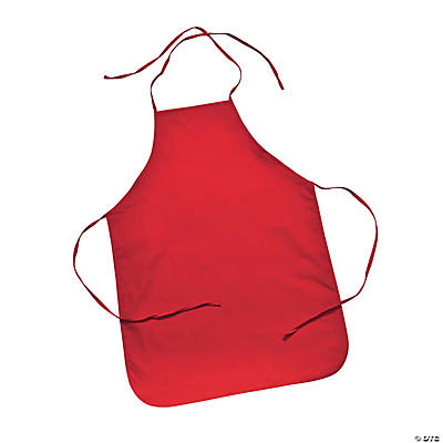 Child's Size Red Apron