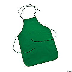 Child's Size Green Apron