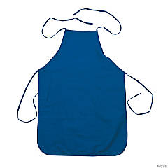 Child's Size Blue Apron