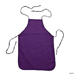 Child's Size Purple Apron
