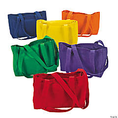 Brightly Colored Bible Totes