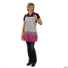 Sassy Breast Cancer Awareness Apron