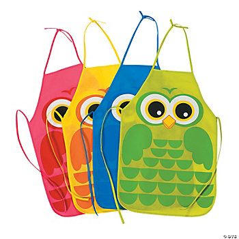 Owl Child's Aprons