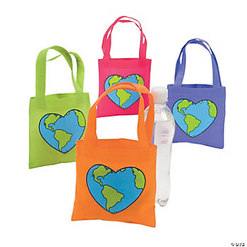 Love The Earth Tote Bags