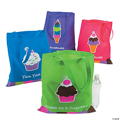 Sweet Treats Cupcake Tote Bags