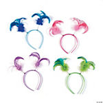 Plastic Neon Ponytail Head Boppers