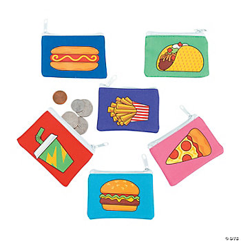 Fast Food Coin Purses