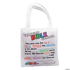 Fill-In-The-Blank VBS Totes