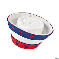 Patriotic Mini Hair Clip Hat