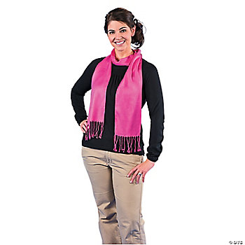 Hot Pink Personalized Scarf