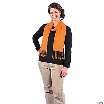 Orange Personalized Scarf