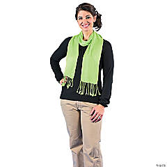 Lime Green Personalized Scarf