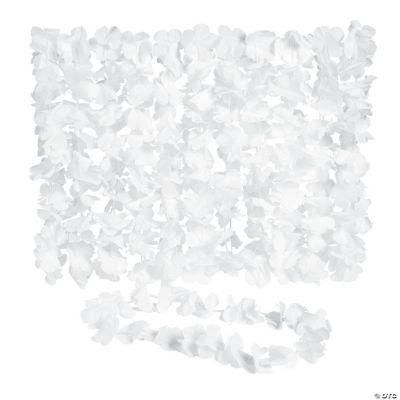 White Flower Leis