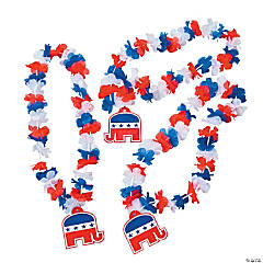 Republican Flower Leis