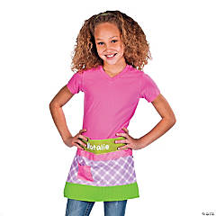 Personalized Crayon Apron