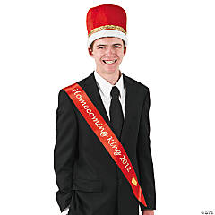 "Red ""Homecoming King 2012"" Sash"