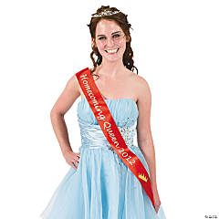 "Red ""Homecoming Queen 2012"" Sash"