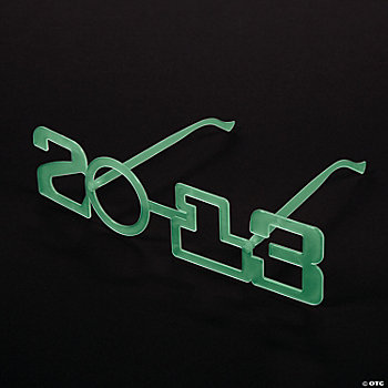 "Glow-In-The-Dark ""2013"" Glasses"