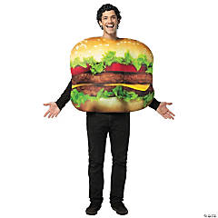 Get Real Cheeseburger Adult Costume