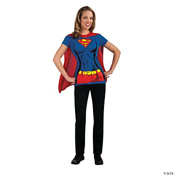 Superwoman T-Shirt Adult Women's Costume