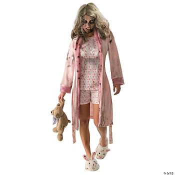 Little Girl Zombie Adult Women's Costume
