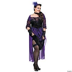 Lady Maverick Plus Size Women's Costume
