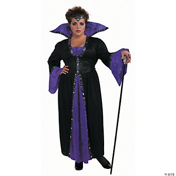 Plus Size Sorceress Adult Women's Costume