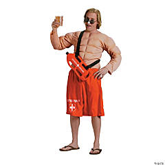 Off Duty Lifeguard Adult Men's Costume