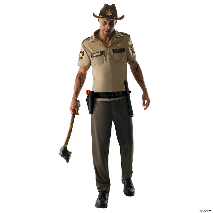 Rick Grimes Halloween Costume for Men  sc 1 st  Oriental Trading & Rick Grimes Halloween Costume for Men - Discontinued