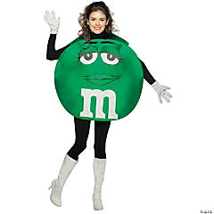 Green M&M Girl's Costume