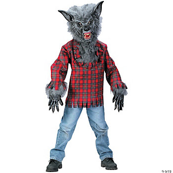 Werewolf Boy's Costume