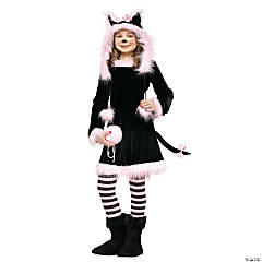 Pretty Kitty Girl's Costume